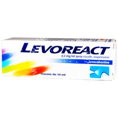 Levoreact Ofta collirio 4 ml 0, 5 Mg