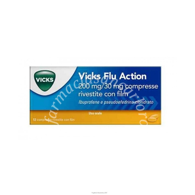 Vicks Flu Action12cpr20030mg